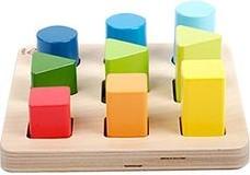 Hape houten vormenpuzzel Color and Shape Sorter
