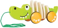 Hape trekfiguur Walk-A-Long Crocodile