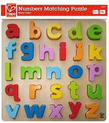 Hape houten legpuzzel Lowercase Alphabet Puzzle