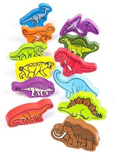Hape rijgfiguur Roaming Dinosaurs-2
