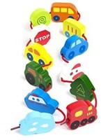 Hape rijgfiguur Lacing Vehicles