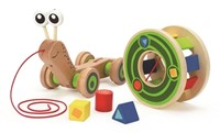 Hape trekfiguur Walk-A-Long Snail