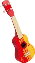 Hape Muziekinstrument Ukulele, Red
