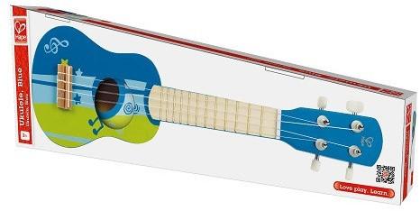 Hape Muziekinstrument Ukulele, Blue-2