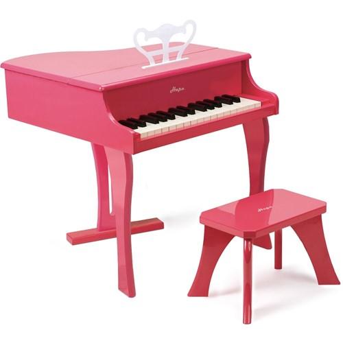 Hape Muziekinstrument Happy Grand Piano, Pink-2