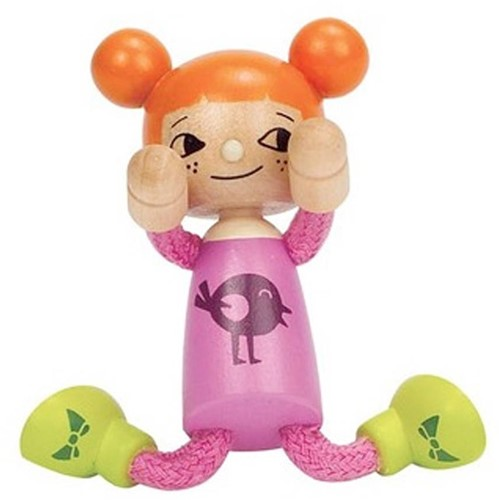 Hape poppenhuis poppen Modern Family Jongste Dochter-2