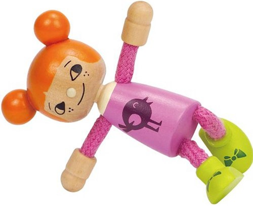 Hape poppenhuis poppen Modern Family Jongste Dochter-3