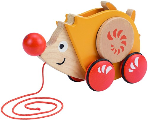 Hape trekfiguur Walk-A-Long Hedgehog-1