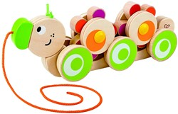 Hape trekfiguur Walk-A-Long Caterpillar