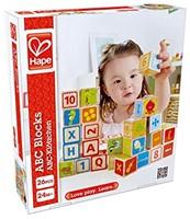 Hape houten bouwblokken ABC Blocks-2