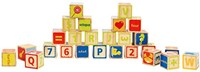 Hape houten bouwblokken ABC Blocks-3