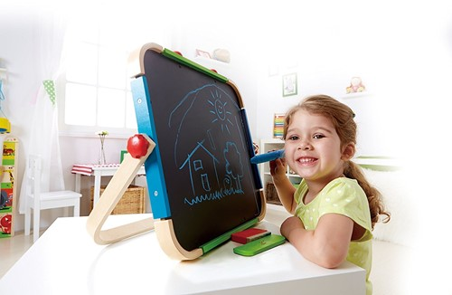 Hape houten kindermeubel Anywhere Art Studio-2