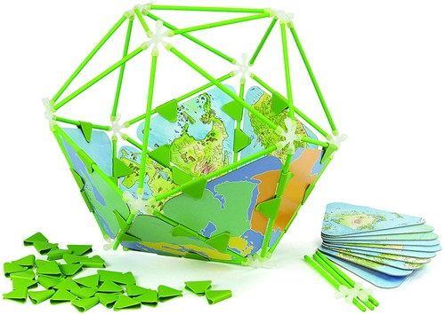 Hape leerspel Architetrix Globe Set-1