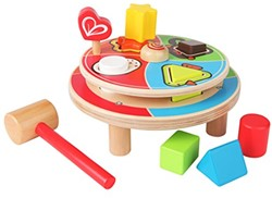 Hape leerspel Spin Animal Pounder