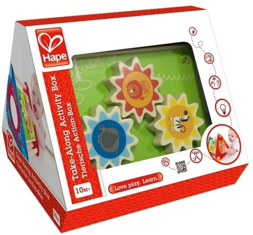 Hape leerspel Take-Along Activity Box
