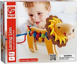 Hape rijgfiguur Lacing Lion