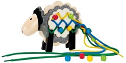 Hape rijgfiguur Stringy Sheep