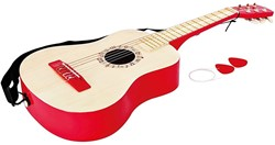 Hape Muziekinstrument Vibrant Red Guitar