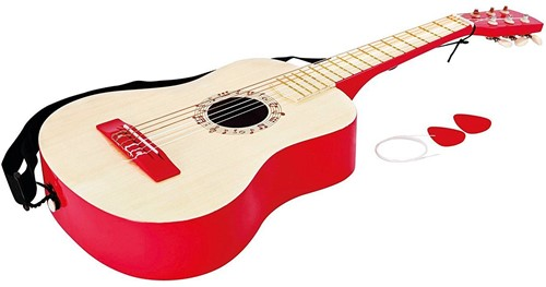 Hape Muziekinstrument Vibrant Red Guitar