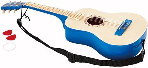 Hape Muziekinstrument Vibrant Blue Guitar-1