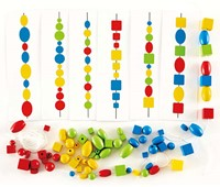 Hape rijgspel Logic Beads-2