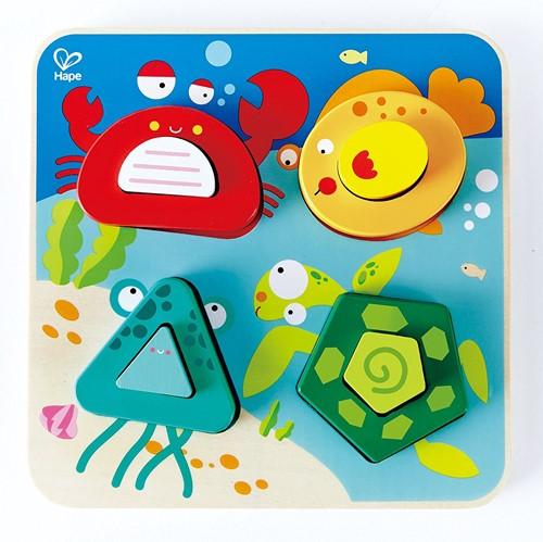 Hape vormenpuzzel Underwater Escapade