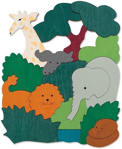 Hape houten legpuzzel African Animals