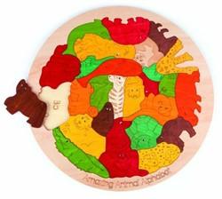 Hape houten legpuzzel Amazing Animal Alphabet