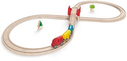 Hape houten trein set Figure Eight Railway Set