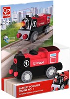 Hape houten trein Battery Powered Engine No.1-1