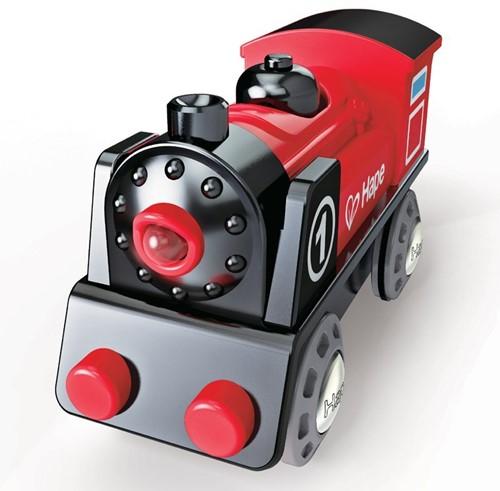 Hape trein Battery Powered Engine No.1-2
