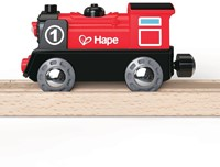 Hape trein Battery Powered Engine No.1-3