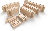 Hape houten trein Advanced Expansion Rail Pack-1