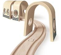 Hape houten trein Triple Tunnel