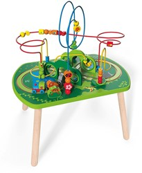 Hape houten trein Jungle Play & Train Activity Table