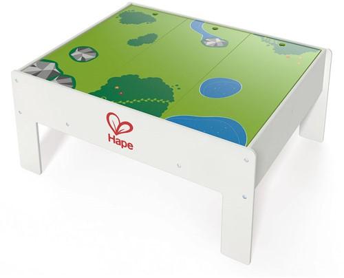 Hape houten trein accessoires trein tafel Play & Stow