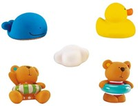 Hape Badspeelgoed Teddy and Friends Bath Squirts