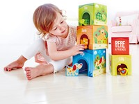 Hape stapelfiguur Friendship Tower-2