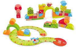 Hape houten bouwblokken Sunny Valley Play Blocks