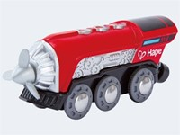 Hape houten trein Propeller Engine