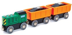 Hape houten trein Diesel Freight Train