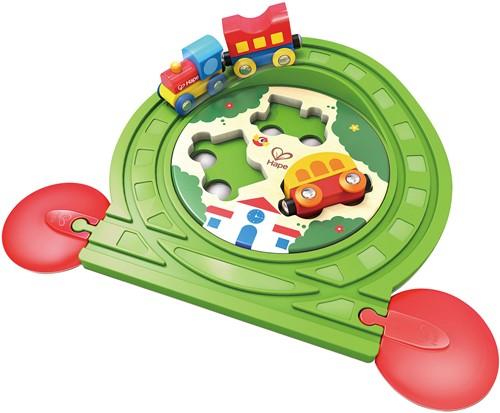 Hape houten trein Train Track Puzzle