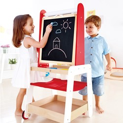 Hape houten kindermeubel Create and Display Easel