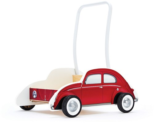 Hape houten loopwagen Beetle Walker, Red-1