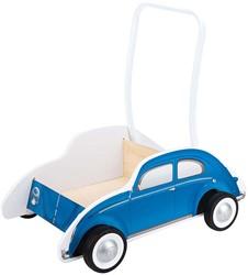 Hape houten loopwagen Beetle Walker, Blue