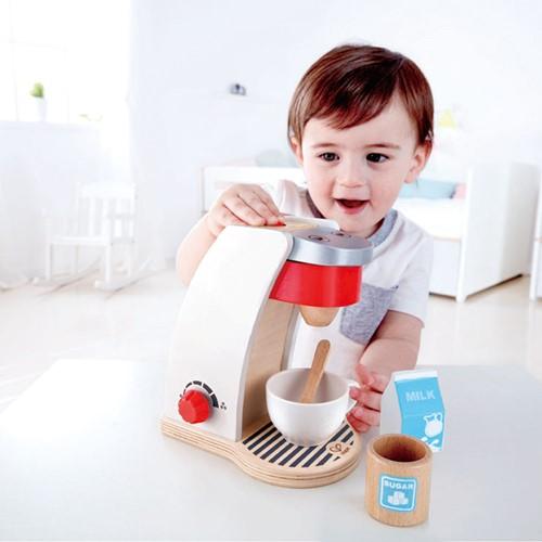 Hape houten keuken accessoires Mijn koffie machine-2