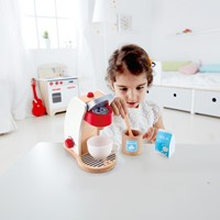Hape houten keuken accessoires Mijn koffie machine-3
