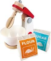 Hape houten keuken accessoires Mix & Bake blender