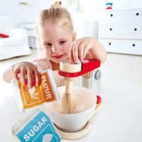 Hape houten keuken accessoires Mix & Bake blender-2