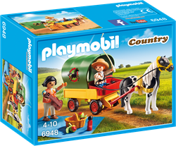 Playmobil Country - Picknick met ponywagen  6948